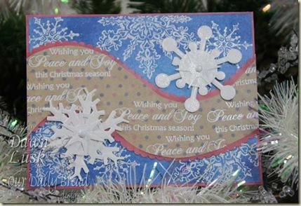 SC256 Snowflake Peace