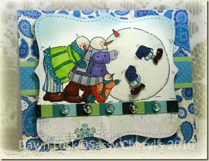 Oct12 Roll Up Snowman