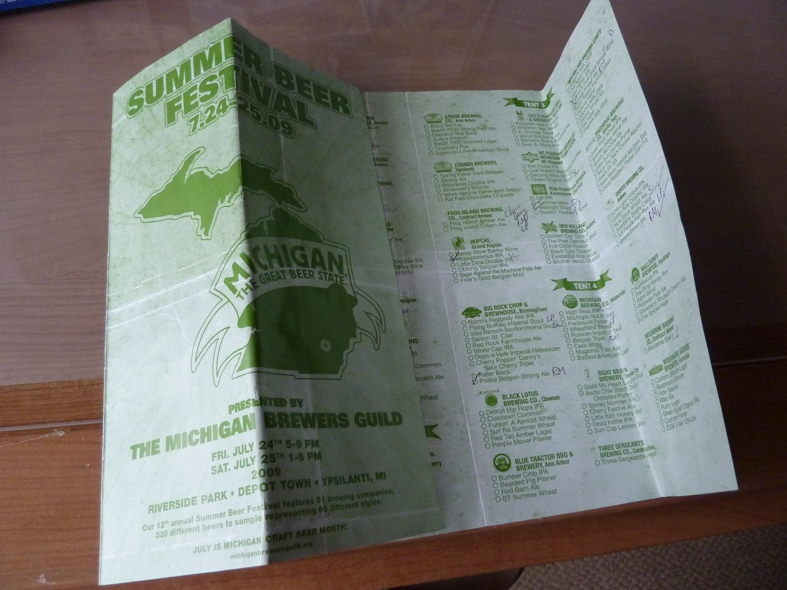 Michigan Brewers Guild Summer Beer Festival (12th Annual) | Life in ...