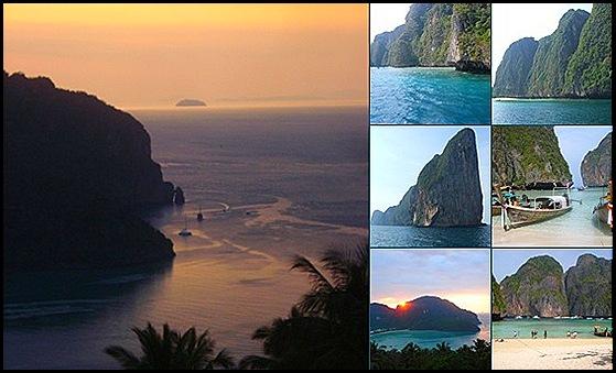 Los alrededores de las islas Phi Phi  Don y Phi Phi Le