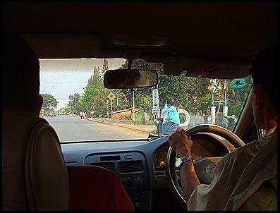 El Taxi hasta Siem Reap