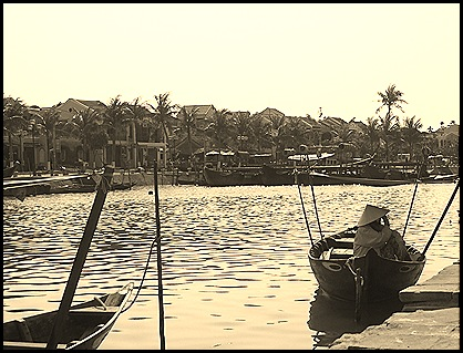 El puerto de Hoi Ann