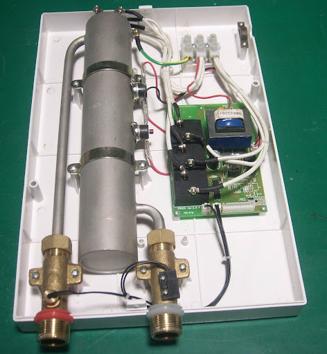 Electric tankless water heater - Energy Efficient Homes - Save