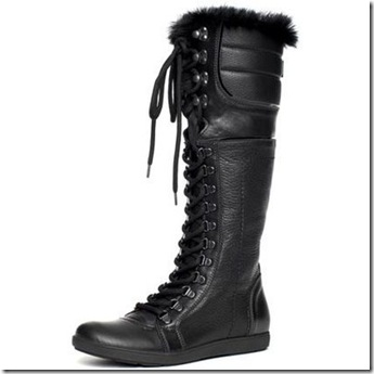 Burberry High Weather Lace-Up Boots