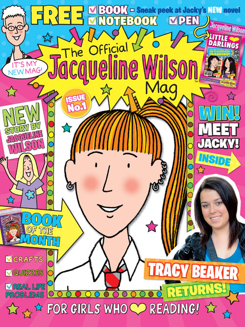 Jacqueline Wilson Magazine Issue 1