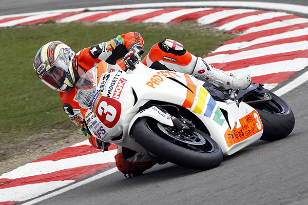 John McGuinness at Brands Hatch on Easter Monday 2010
