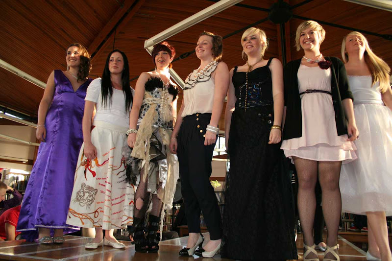 Heysham High School Fashion Show at Morecambe Library
