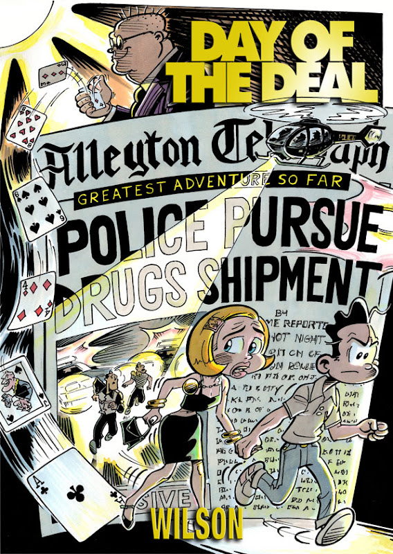 Day of the Deal by Jason Wilson, a follow up to the contriversial Smuggling Vacation