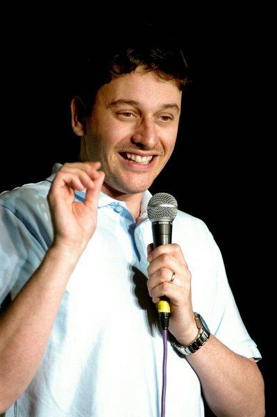 Comedian Alex Boardman