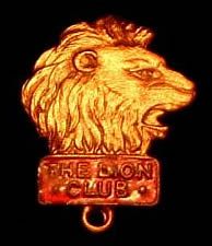 Lion Club Badge.