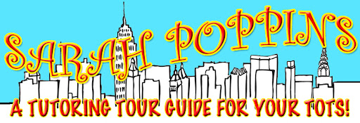 Sarah Poppins, NYC Explordinaire, kids, tour guide, children, NYC, New York City, nanny, affordable, baby sitter