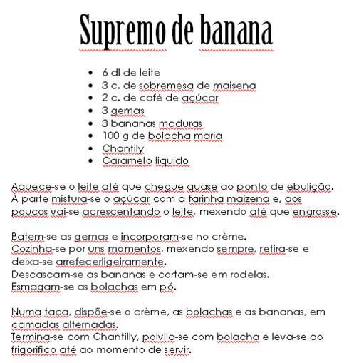 supremo de banana