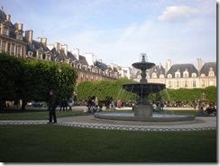 Vosges square - Le Marais region