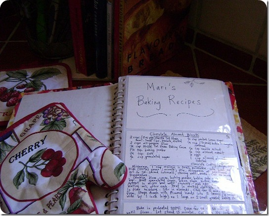 Mari's Recipe Book