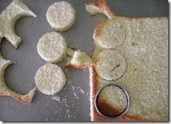 Como se corta un mini cake