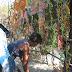 Landestypische Kunsthändler auf der Straße
