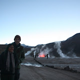 Shortly after arrival at Tatio.  It is 6:20am and -15C.