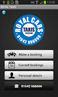 Screenshot of Royal Taxis