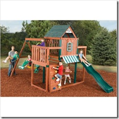 Winchester Complete Wood Playset
