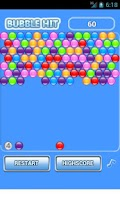 Screenshot of Bubble Hit