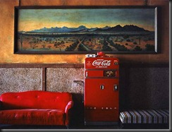 wim wenders lounge painting 1 1983