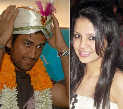 Mahendra Singh Dhoni and Sakshi Singh Rawat - The Hottest New Couple in India