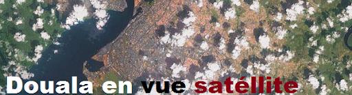 vue satellite de douala