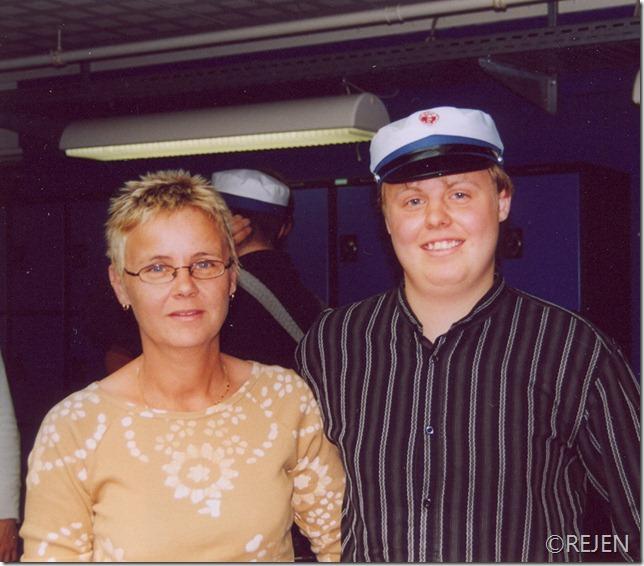 14. juni 2004, jesper og mor