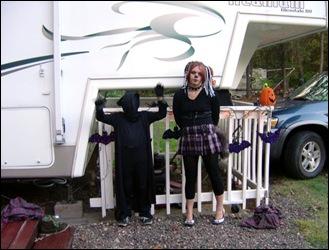 Telah & Cody Halloween 2007