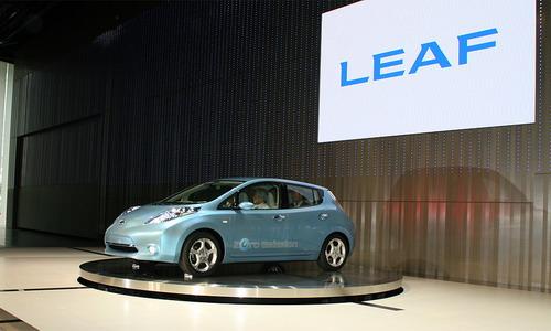 Electromobile Nissan