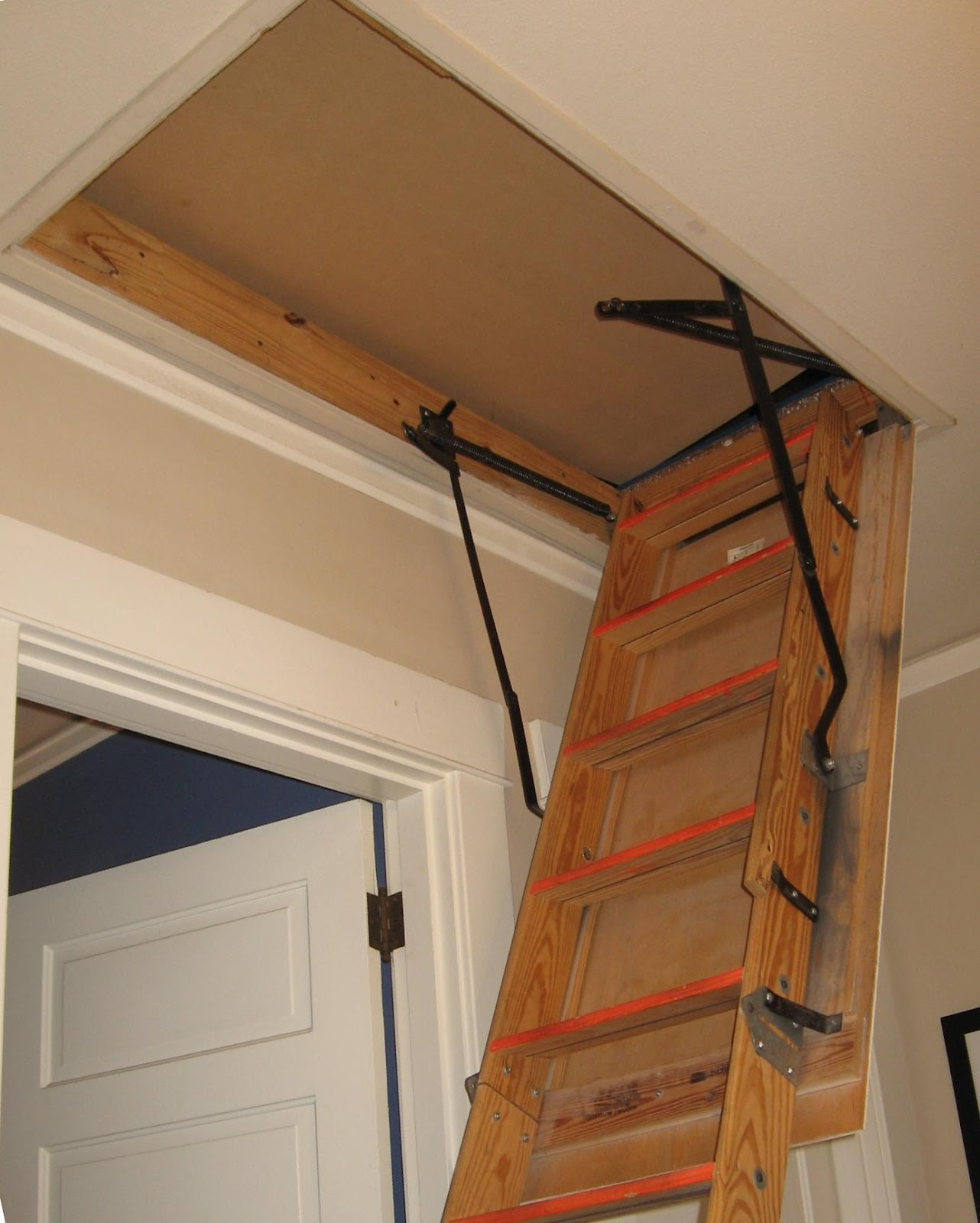Fakro Attic Ladder Installation Progress