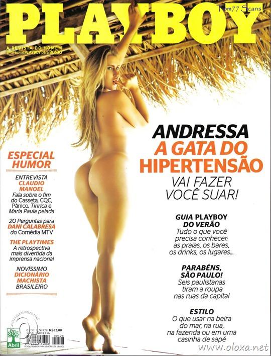 Playboy de janeiro – Andressa do Hipertensão