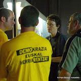 Bayonne septembre 2006 occupation-explication cathédrale