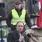 Victor Pachon et Michel Hiriart pour les discours