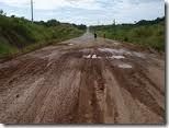 Estrada ruim