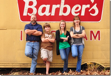 tranums barber truck