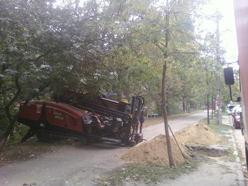 Прокол под дорогой Киев