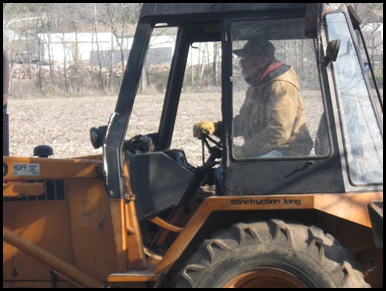 Dad, Backhoe, Brooke &amp; Jack 016