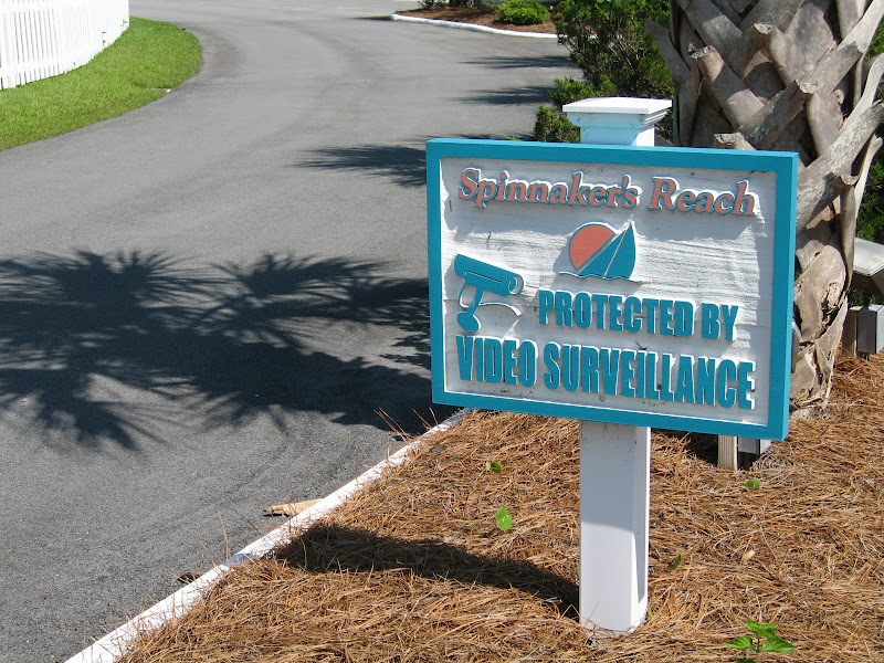 Sign - Spinnakers Reach at the beach - Emerald Isle North Carolina