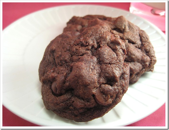 Double Chocolate chip cookie1