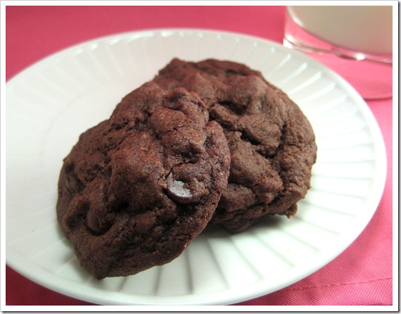 Double Chocolate chip cookie3-2