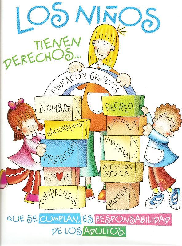 Derechos y responsabilidades de los niños - Imagui
