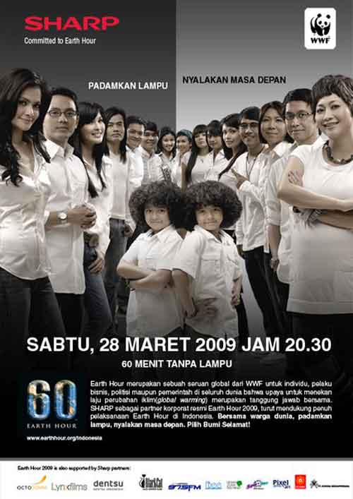 Kumpulan artis - happy earth 2009