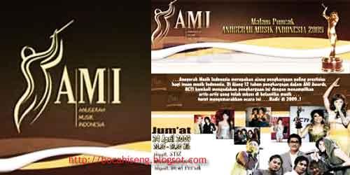 Pemenang (AMI) anugerah Musik Inodnesia Awards 2009