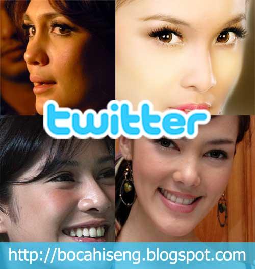 twitter artis indonesia