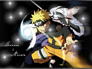 naruto and uchia sasuke duel wallpapers