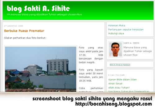 screen shoot blog sakti sihite