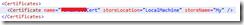 BlankedCertificateStoreLocation