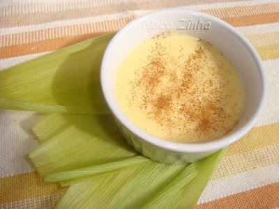 Curau de milho verde