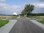 Dzień drugi rozpoczynamy od podjazdu unijnym asfaltem na granicę z Czechami